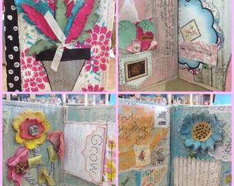 5x7 Canvas Sewn Journal