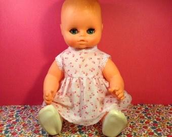 Vintage Doll - ARI 33 81 - Rubber Doll - German Doll - Baby Doll - Sleeping Eyes - Cherub