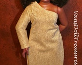 Dasia Clothing Golden Ball Gown