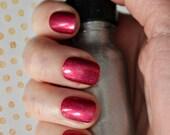 Plain Color Short Fake Nails, Holo Holographic Nails, XS Press On Nails, Short Fake Nails Choose Your Color, Petite Fake Nails