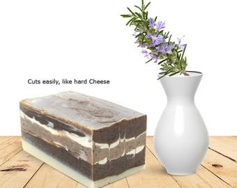 U-cut Soap Blocks and Bricks handmade cold process vegan and earth friendly natural soap in 2 sizes: 28 oz. & 56 oz.