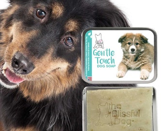 MIXED BREED Gentle Touch Dog Soap Handcrafted All Natural Good Stuff Unscented for All Puppies & All Dogs with Sensitive Skin