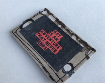 Slim wallets, credit card holders, business card holders, small wallet, thin wallet, recycled wallet, handmade wallets