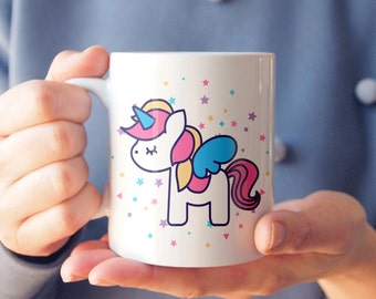 Unicorn Mug Big Coffee Mug Coffee Lover Mug Ceramic Mug Statement Mug Funny Mug Unique Mug Gift Mug Gift For Her Adorable Mug Cute Mug Gift