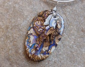 Magical large  Boulder opal jewelry - unique, precious, natural stone jewellery handmade in Australia