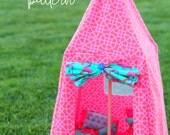 Barbie tent (and sleeping bag)  PATTERN