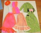 Vtg Barbie Sized Clothing