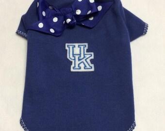 University Of Kentucky TShirt Clothes Size XXXS through Medium by Doogie Couture