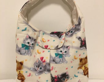 Lunch Bag Insulated - Kittens