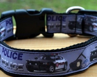 Police dog collar & or leash