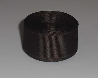 Brown 7/8 inch Solid Grosgrain Ribbon 10 yards