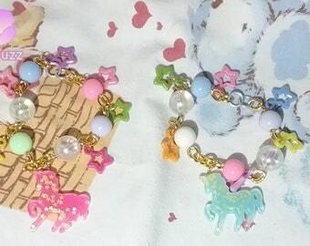 Fairy Kei Unicorn Bracelets