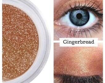 Eyeshadow, Gingerbread, Copper Eye Shadow, Cinnamon, Mineral Eyeshadow, Mineral Makeup, Vegan, Cruelty Free, Eye Makeup