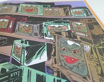 Gremlins Hardcover Storybook - Gizmo - 1980s Illustrated Movie Book