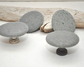 Choose Your Hardware - Beach Rock Cabinet Knobs - Four Ovals