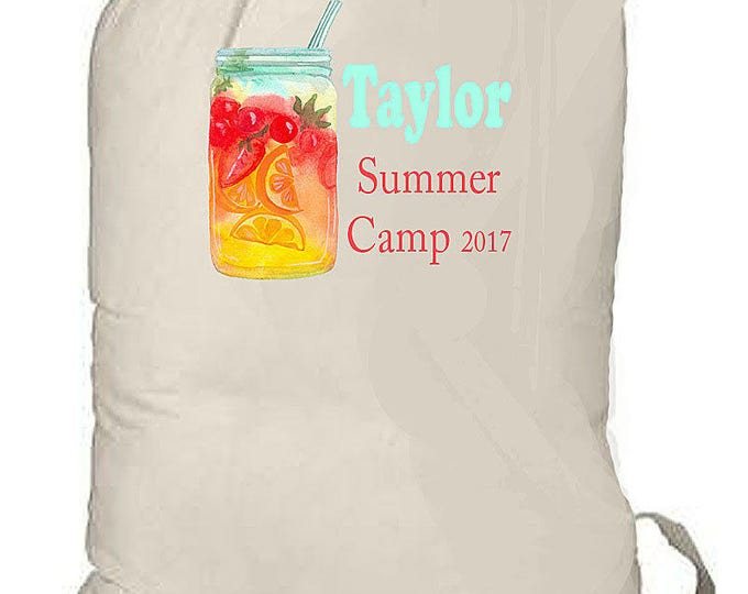 Summer Camp Bag, Laundry Bag, College Laundry Bag, Grad Gift, Travel laundry Bag, Beach Bag, Overnight Bag, Bedding Bag, Huge Drawstring Bag