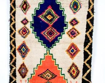 La Boheme - Beautiful vintage Azilal rug