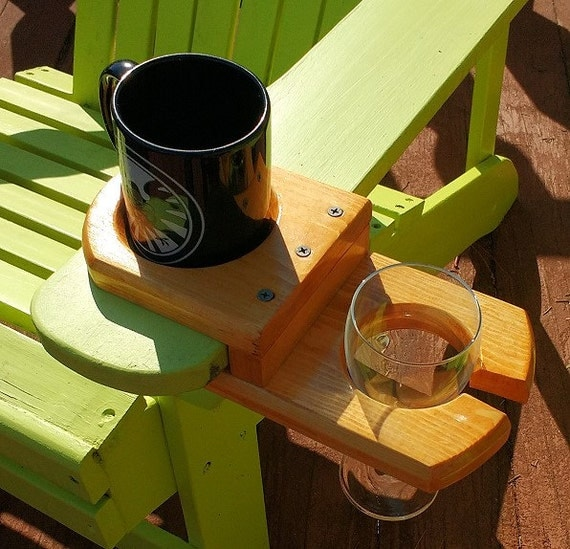 NEW! - Adirondack Wine and Coffee/Drink Holder