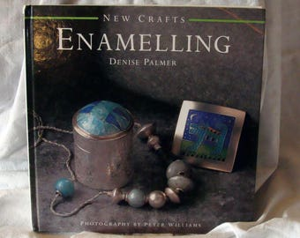 Sale New Craft's Enamelling by Denise Palmer Book Art Instruction Glass