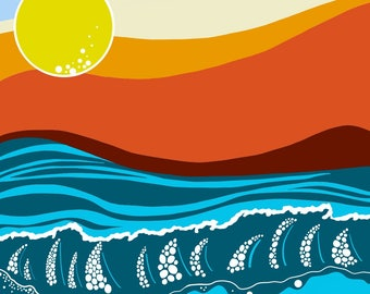 Sunrise II Digital Print