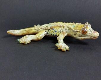 Frilled Gecko Sculpture