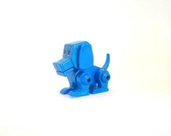 Miniature Robot Dog, Miniature Dog, Miniature Robot, Robot Dog, Supplies, Miniature Toy, Blue, Robot