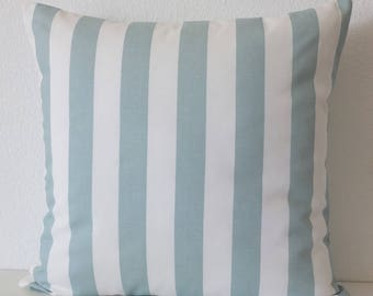 Pillow cover - Shabby and Chic - Blue - White - Stripes - Cottage - Standard - Decorative - Pillow Case - Cushion cover