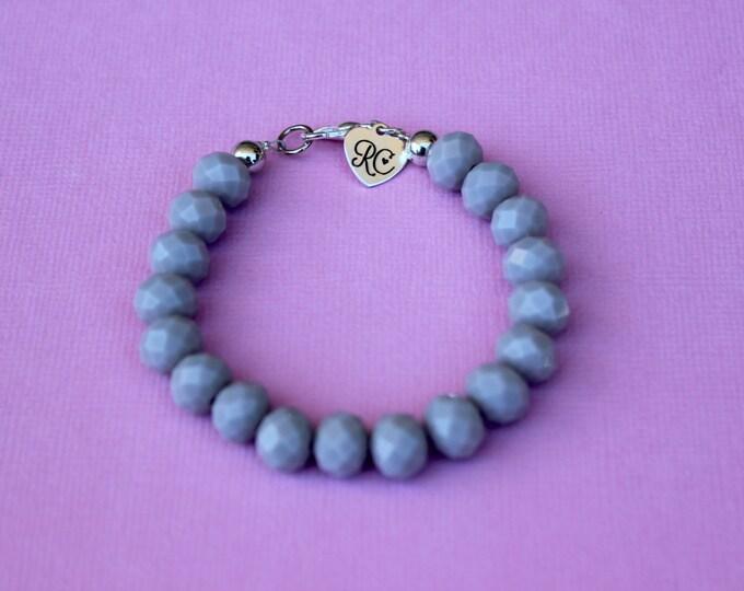 RC Signature Bracelet in Grey.