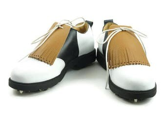 Kiltie for Mens Golf Shoes, Leather Fringe, Golf Shoe Kilties, Tan Kilties, Golf Gift for Men, Leather Tassel, Golf Gift Ideas, Golf Stuff