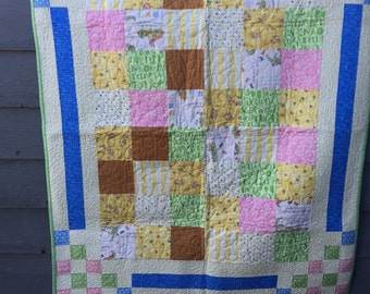 Baby Quilt - How much do I love you?
