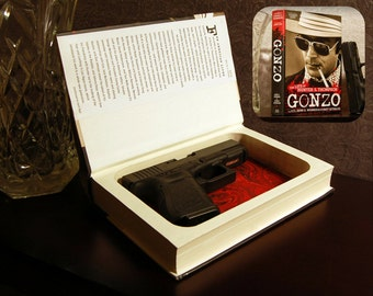 Hollow Book Gun Safe (Gonzo: The Life of Hunter S. Thompson)