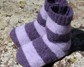 Wool Toddler Slippers: size 5-7