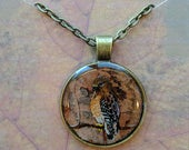 Red Shouldered Hawk Pendant