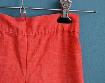 Vintage Girl's Raspberry Colored Linen Pants by Health-tex - Size 4