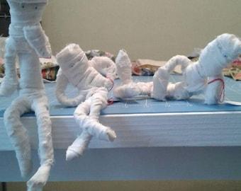 Adorable  Poseable Mummies