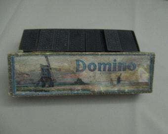 Vintage Antique Dominoes European Victorian Era