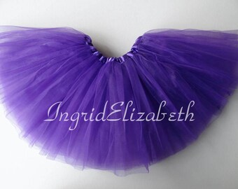 Purple Tutu Ballet 4-Layer Skirt / FAST SHIPPING / Child Toddler Costume, Birthday Tutus, Dress Up tutus, Dance tutu, Princess tutu