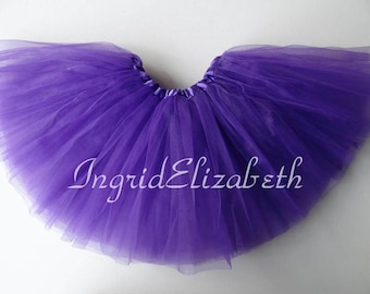 Purple Tutu, Purple Toddler Tutu, Purple Ballet Tutu, Purple Tutu Skirt, Purple Girls Tutu, Purple Dance Tutu, Tulle Skirt, Costume