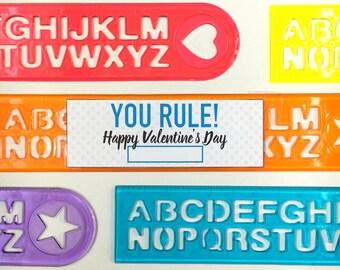 You Rule - Ruler Printable Valentine DIY - Kids Valentine