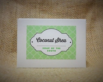 Coconut Shea Bar Soap