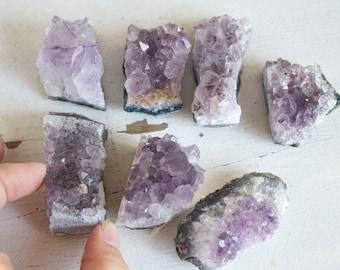 Amethyst Geode Chunk, ONE Small Piece, Add On, February Birthstone, Crystal Destash