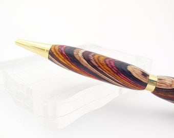 Handmade Wood Pen, Colorful Wood Pen