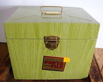 Porta File Metal File Box Key Lock Box Ballonoff Porta File