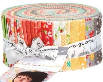 "Lulu Lane Jelly Roll by Corey Yoder for Moda Fabrics 29020JR 40 2.5"" x 42"" Fabric Strips"