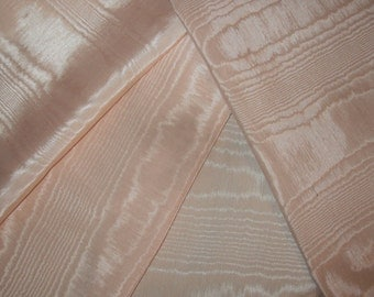 Crazy Quilt Fabric Sampler  Romantic Moire  Shades of Pinks