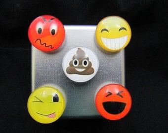 cute fridge magnet set, Free Shipping, cute magnets, strong magnets, refrigerator magnets, emoji magnet set, fridge magnets 611