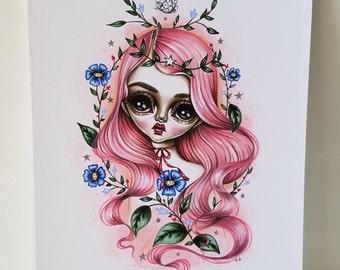 Rosalind 8x10 Art Print