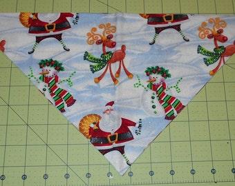 Dog Bandana, Christmas, Santa, Reindeer, Snowman, Neckerchief