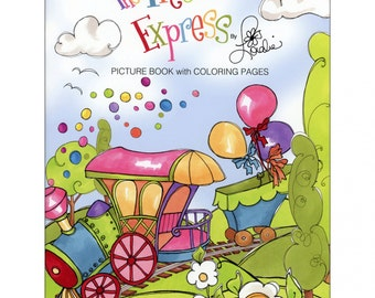 The Precious Express by author: Loralie Harris Picture Book with 15 Coloring Pages
