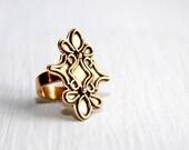 Metal Ring * Metalwork Jewelry * Unique Rings * Big Rings * Artisan Rings * Cocktail Ring * Artisan Jewelry * Metalwork * Artisan Jewelry